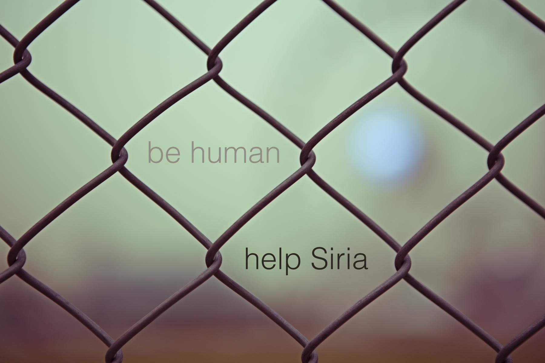 Ayudemos a Siria